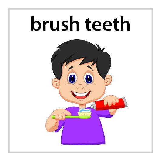 brush teeth boy mission magnets